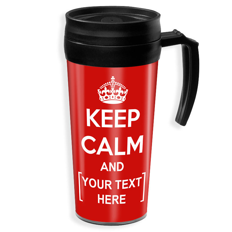 Personalised Travel Mug | Keep Calm