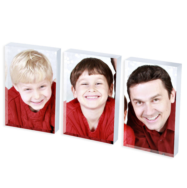 Personalised Photo Block Set | 70mm x 45mm