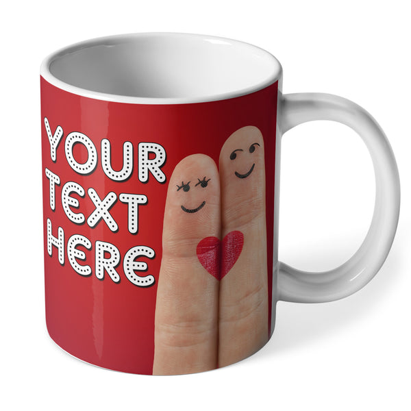 Personalised Ceramic Mug | Love