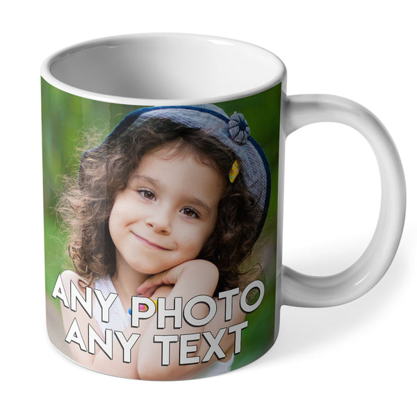 Personalised Photo & Text Mug | Ceramic