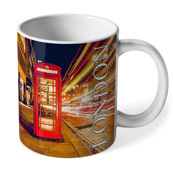 London Phone Box Ceramic Mug | UK