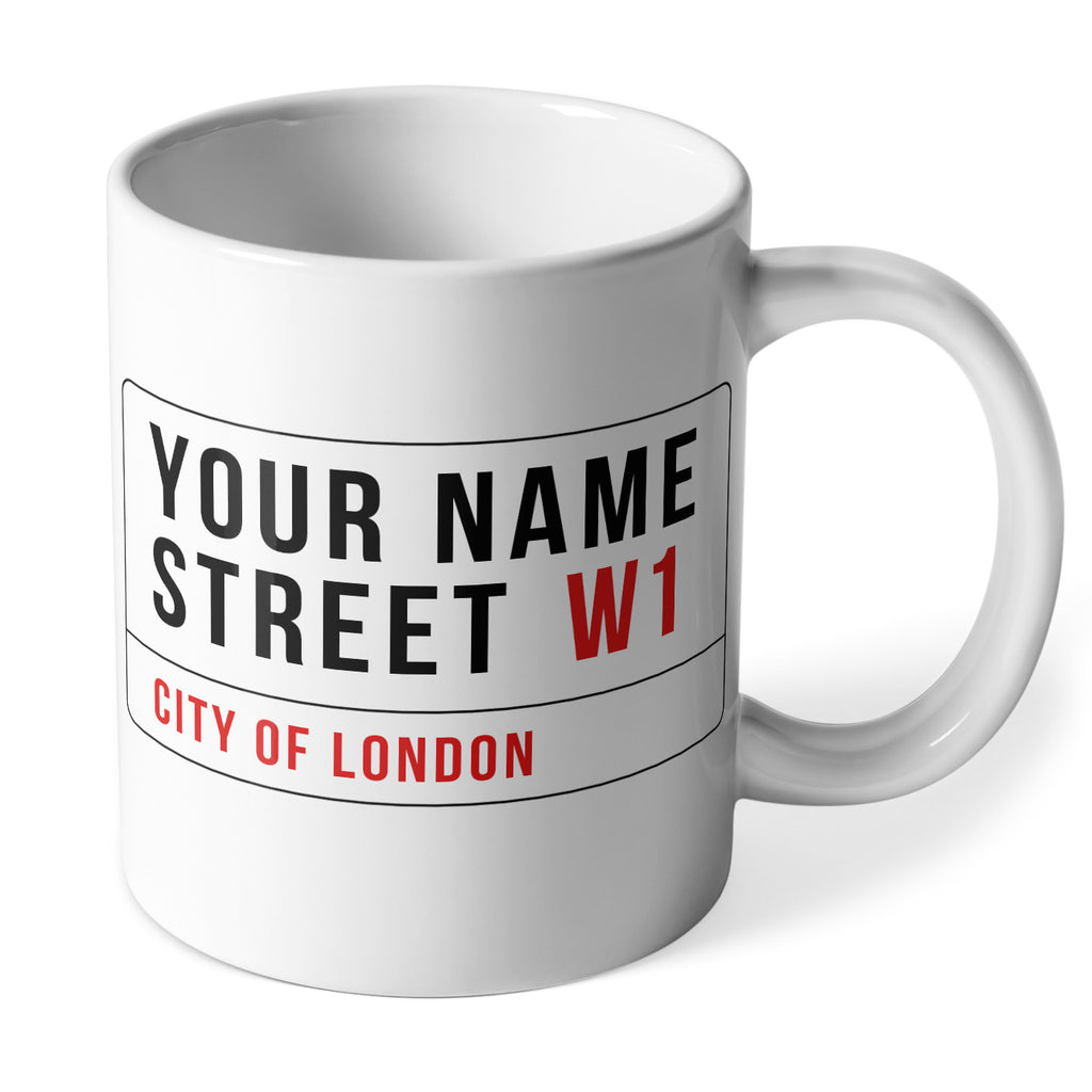 Personalised Ceramic Mug | Your Street Name