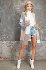 Karissa Color Block Cardigan