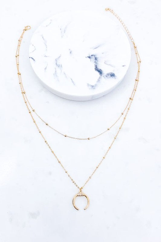 Claudia Crescent Necklace