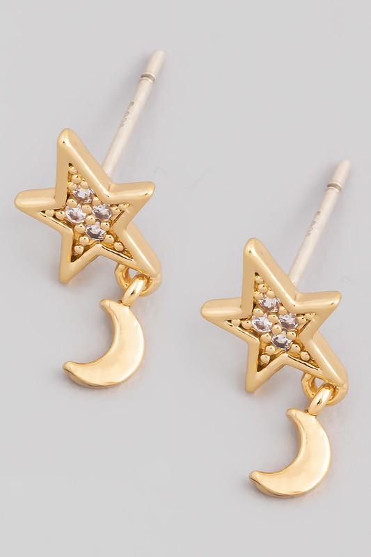 Night Sky Mini Earrings