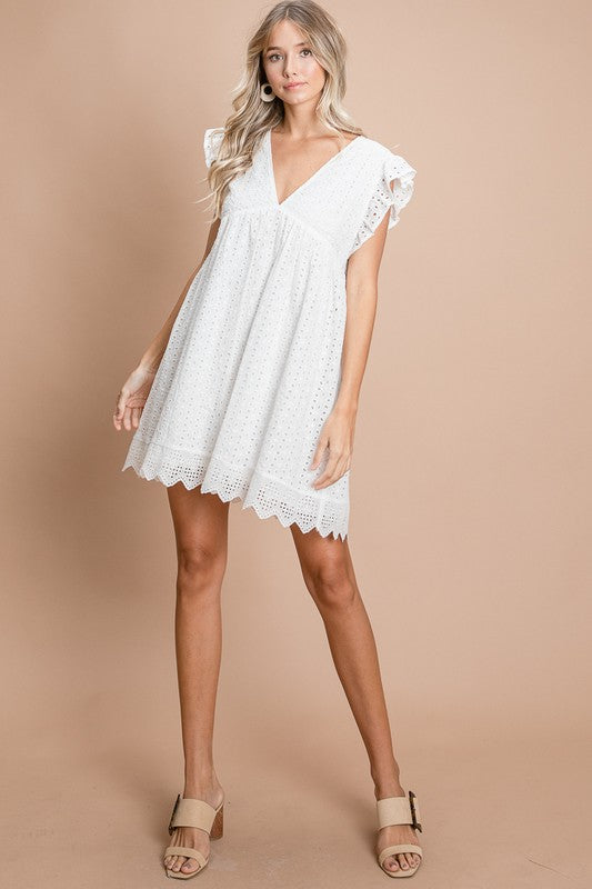 Eliza Babydoll Dress
