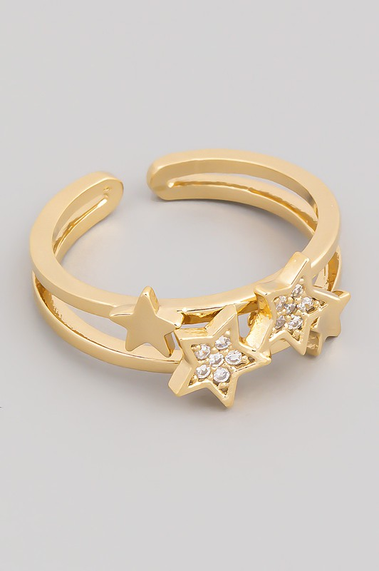Adjustable Star Ring