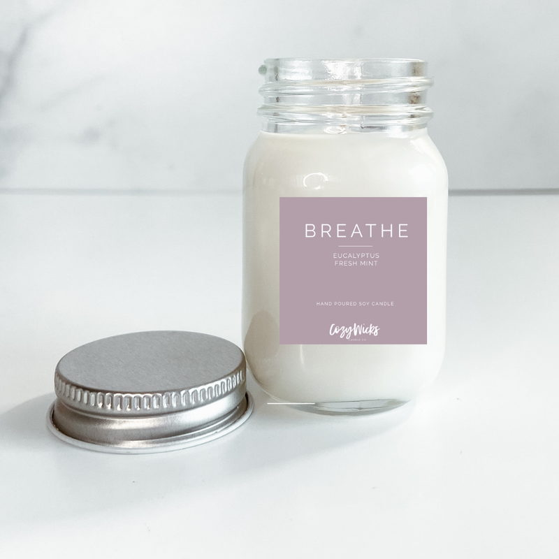 Mini Soy Candle- Breathe