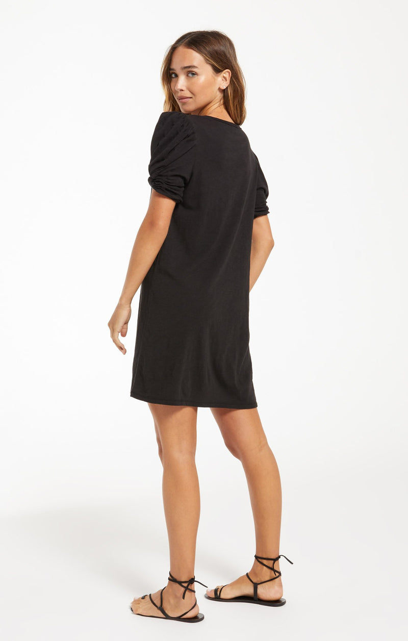 Indie Puff Sleeve Dress