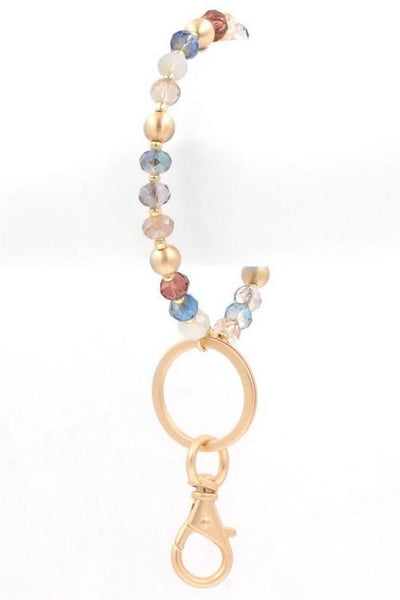 Beaded Key Ring - B Boutique
