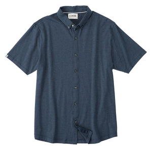 Anza Heathered Button Down