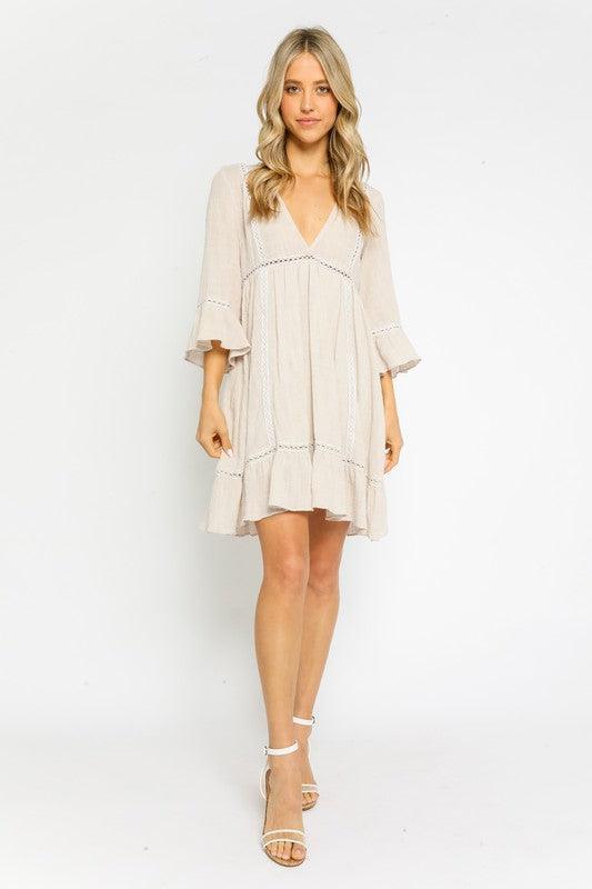 GiGi Bell Sleeve Dress