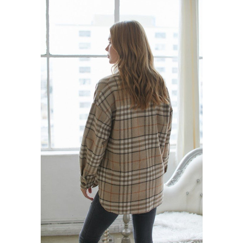 Taylor Plaid Shacket