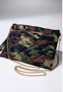 Day Trip Camo Cross Body
