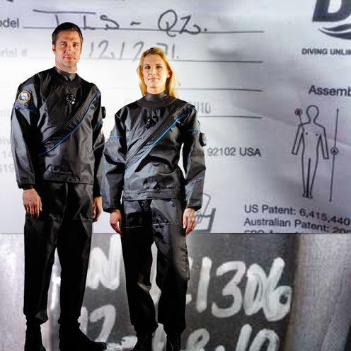 DUI TLS350 DRYSUIT OWNERS