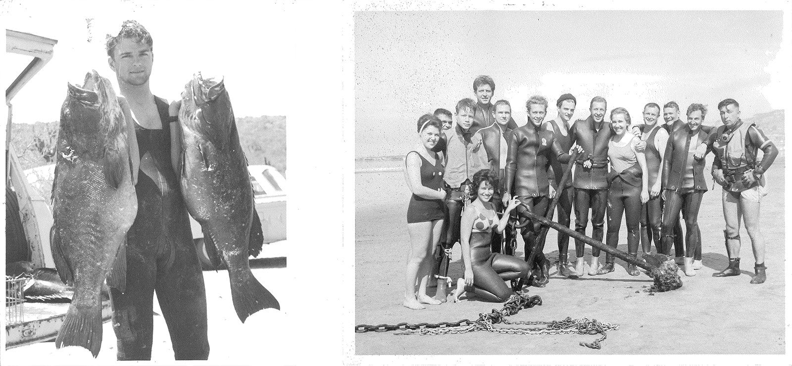 Dick Long with giant black sea bass