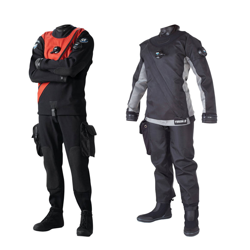 DUI Standard and Premium Drysuits