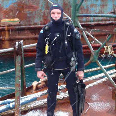 DUI | Diving Unlimited International - Diving Drysuits and Dive Gear - Mark Norder