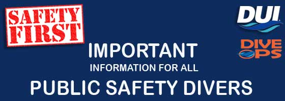 Important for all public safety divers