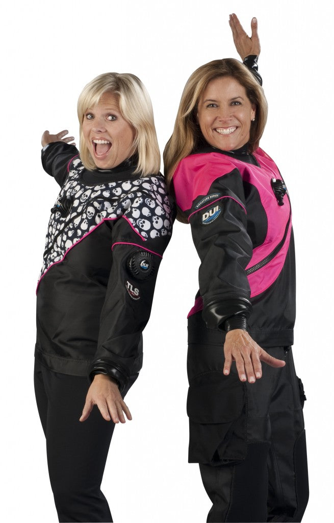 DUI Designing drysuits for women