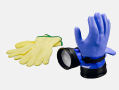 DUI dry gloves for your drysuit