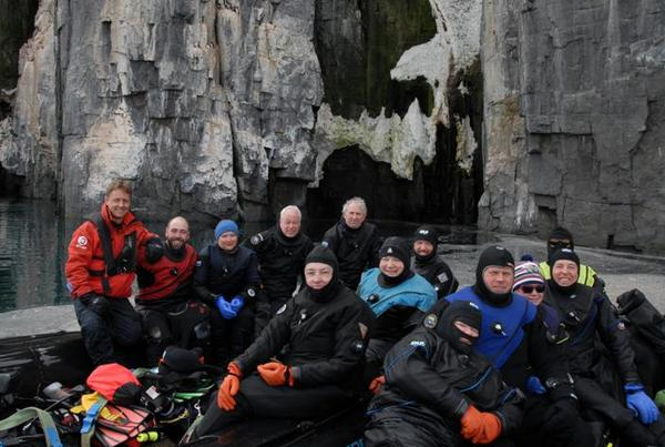 Iceland Green Dive Trip