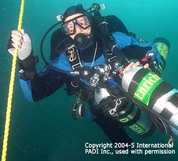 Diving with Karl Shreeves
