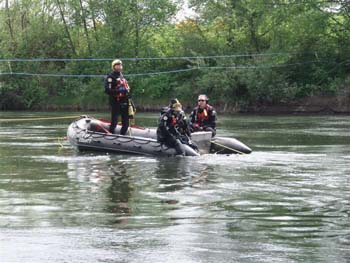 Pierce County Dive Team in Action