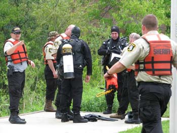 Allegan County Sheriff Dive Team