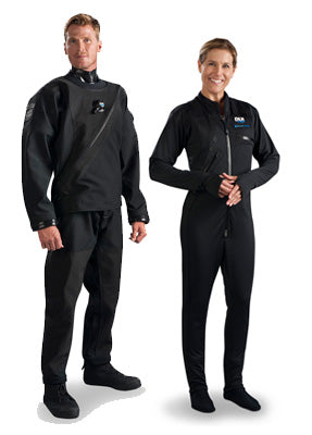 Technical drysuits