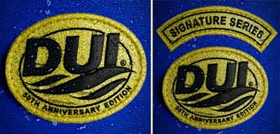 DUI 50th Anniversary Patches