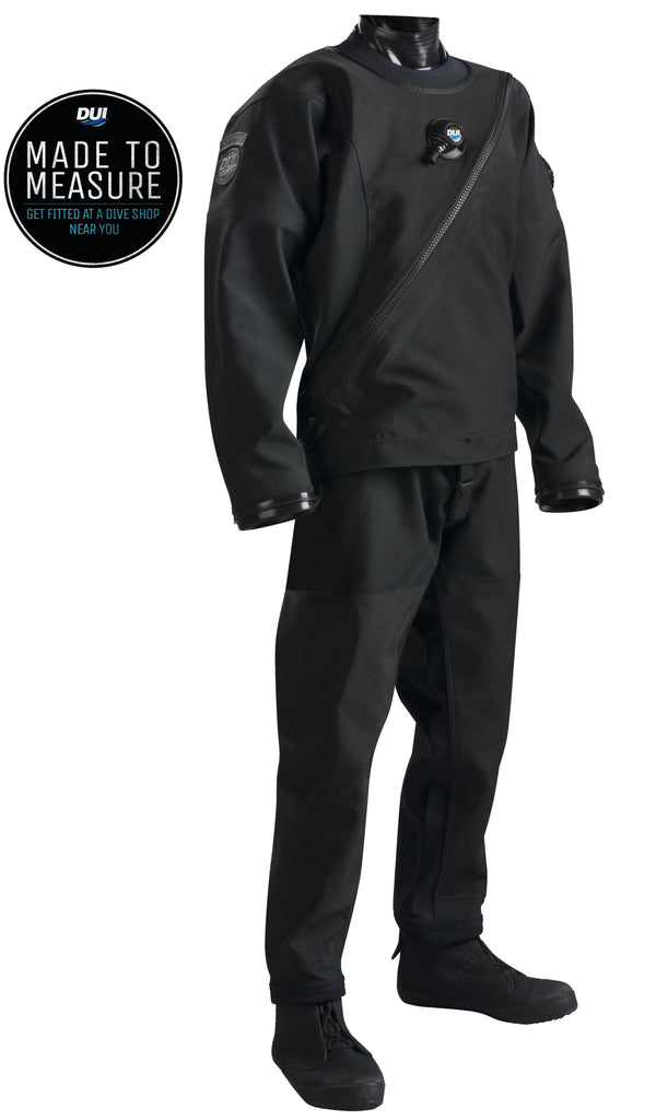 FLX Extreme - Premium Drysuit - Pro Black Tough Duck