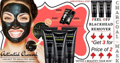 Charcoal Mask 3 for 2 - And 1 For ALL