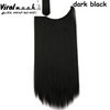 Dark Black Straight - Viral Makeup and Hair Product Photo