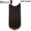 Dark Brown Straight - Viral Makeup and Hair Product Photo