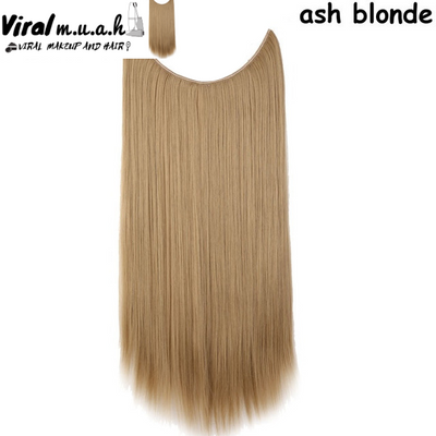 Ash Blonde Straight - Viral Makeup and Hair Product Photo