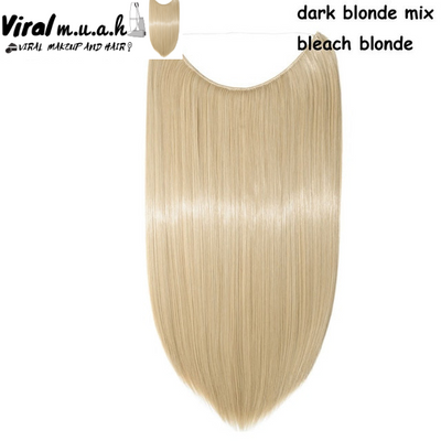 Dark Blonde/Bleach Blonde Mix Straight - Viral Makeup and Hair Product Photo