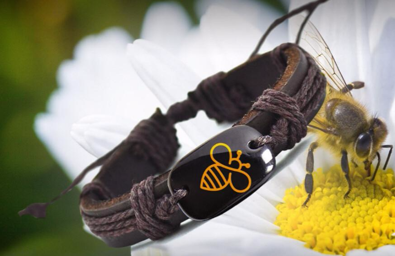 HONEYBEE AWARENESS UNISEX BRACELET