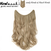 Sandy/Bleach Blonde Mix Straight - Viral Makeup and Hair Product Photo