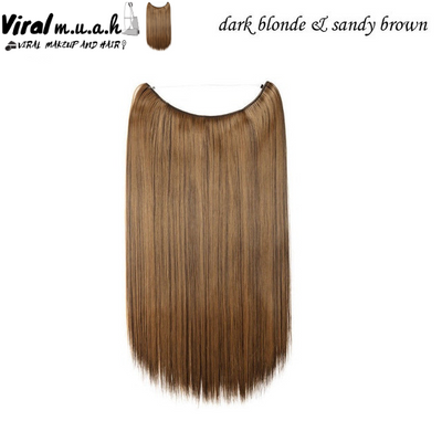 Dark Blonde/Sandy Brown Mix Straight - Viral Makeup and Hair Product Photo