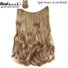 Light Brown/Ash Blonde Mix Curly - Viral Makeup and Hair Product Photo