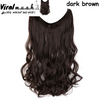 Dark Brown Curly- Viral Makeup and Hair Product Photo