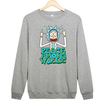 Rick and Morty  Fleece Sweatshirt  - Various Designs