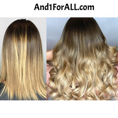 Viral Makeup and Hair Extensions Before and After 1