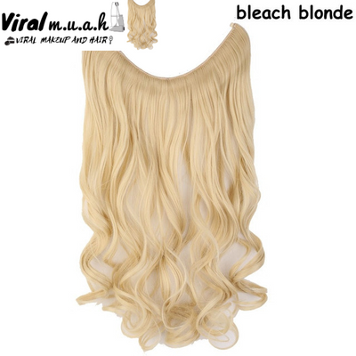 Bleach Blonde Curly - Viral Makeup and Hair Product Photo