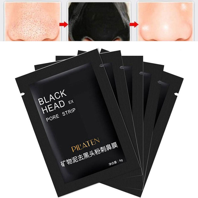 Shills Black Head Removal Mask Activated Charcoal - 5 Pack Pore Strips