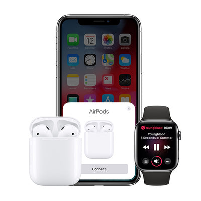 Apple Airpods Wireless Earbuds and Charging Case - AND1FORALL.COM