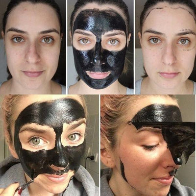 Activated Charcoal Face Mask Peel-Blackhead Remover-Skin Acne Benefits-Deep Cleansing-Pore Minimizer - And1ForALL.com