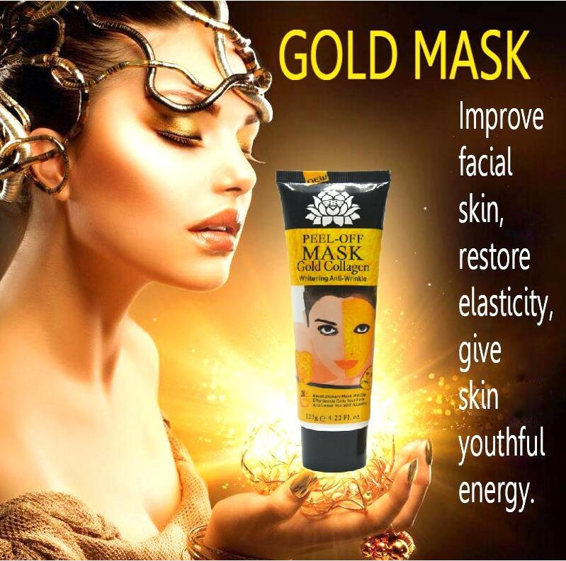 24K golden mask - Anti-Wrinkle Peel-off Facial Masks