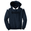 Hustle Until - Sport-Tek Youth Colorblock Hooded Pullover